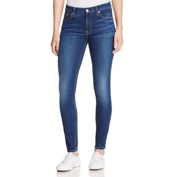 7 FOR ALL MANKIND B(air) The Ankle Skinny Jeans